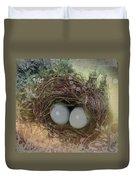 Eggs In A Nest Duvet Cover