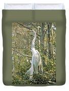 Egret 1 Duvet Cover