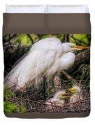 Egrets - 3362 Duvet Cover