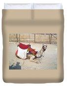 Egypt - Camel Duvet Cover