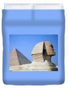 Egypt - Pyramids Abu Alhaul Duvet Cover