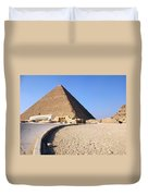 Egypt - Way To Pyramid Duvet Cover