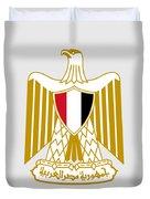 Egypt Coat Of Arms Duvet Cover