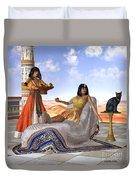 Egyptian Cleopatra Duvet Cover