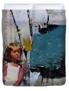 Egyptian Culture 50b Duvet Cover