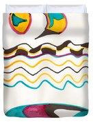 Egyptian Design Duvet Cover