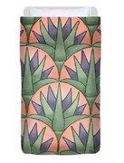 Egyptian Floral Duvet Cover