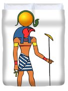 Egyptian God Of The Sun - Ra Duvet Cover