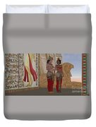 Egyptian King And Queen Duvet Cover