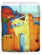 Egyptian Nubian House Duvet Cover