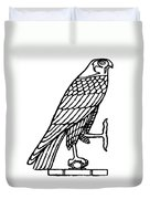 Egyptian Symbol: Falcon Duvet Cover