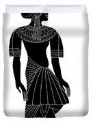 Egyptian Woman Duvet Cover