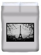 Eiffel Eyeful Duvet Cover