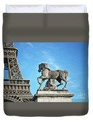 Eiffel Tower 16 Art Duvet Cover