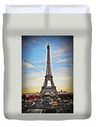 Eiffel Tower 2 Duvet Cover