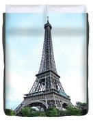 Eiffel Tower 9 Duvet Cover
