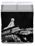 Eiffel Tower Las Vegas Duvet Cover