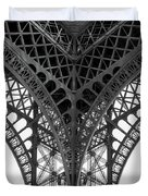 Eiffel Tower Leg Duvet Cover