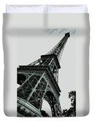 Eiffel Tower Slightly Askew Duvet Cover
