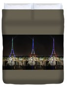 Eiffel Towers Duvet Cover
