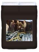 Eisenhower: Wwii, C1944 Duvet Cover