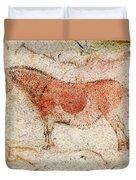 Ekain Cave Horse 2 Duvet Cover