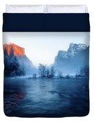 El Capitan At Blue Hour Duvet Cover