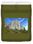 El Capitan In Yosemite National Park Duvet Cover