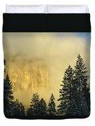 El Capitan Sunrise Glow Duvet Cover