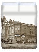 El Carmelo Bakery Lighthouse And Forest Ave. Circa 1890 Duvet Cover