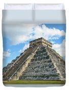 El Castillo Of Chichen Itza Duvet Cover