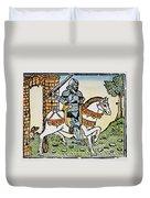 El Cid Campeador (1040?-1099) Duvet Cover