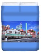El Cortez Hotel On Fremont Street 2.5 To 1 Ratio Duvet Cover
