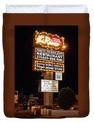 El Rancho Hotel, Nm Duvet Cover