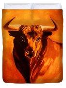 El Toro Duvet Cover