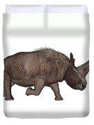 Elasmotherium Duvet Cover