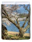 Elder Cherry Tree Duvet Cover