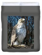 Elder Hawk Duvet Cover