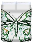 Election 2020 Presidential Candidate Catherien Lott Usa Green Butterfly Duvet Cover