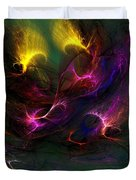Electric Abstract 052510 Duvet Cover