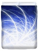 Electric Beams Duvet Cover