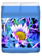 Electric Daisy Duvet Cover
