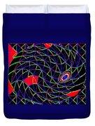 Electric Fish Duvet Cover