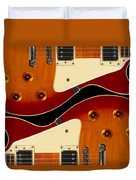 Electric Guitar II Duvet Cover by Mike McGlothlen
