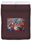 Electric Heartache Duvet Cover