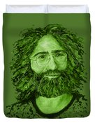 Electric Jerry Olive - T-shirts-etc Duvet Cover