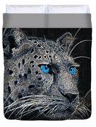 Electric Leopard Duvet Cover