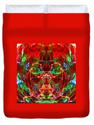 Electric Red Duvet Cover