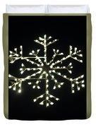 Electric Snowflake Duvet Cover