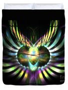 Electric Wings Duvet Cover